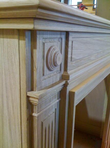 Rivestimenti camini in legno roma arredamenti su misura for Camini in legno