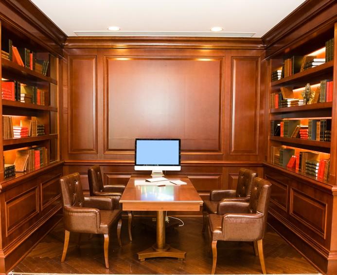 Librerie su misura sala riunioni