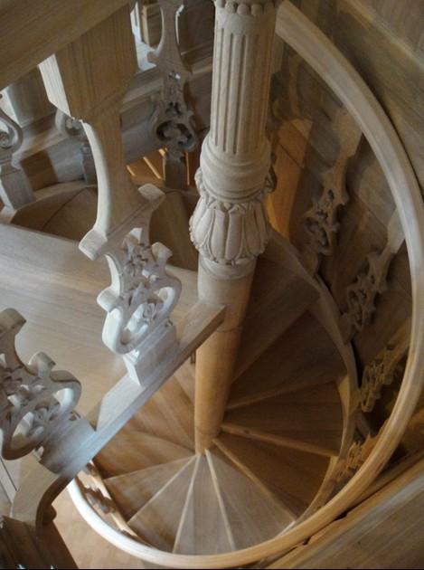 Scale in legno a chiocciola Roma