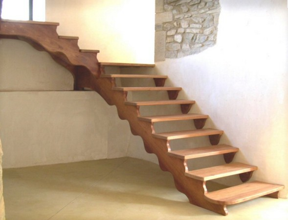 Scaletta In Legno Per Soppalco : Scale in legno su misura roma