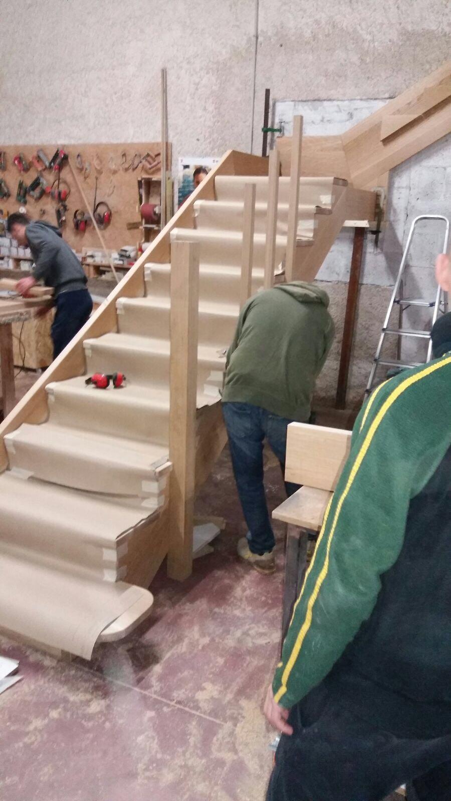 produzione scale in legno ESCAPE='HTML'