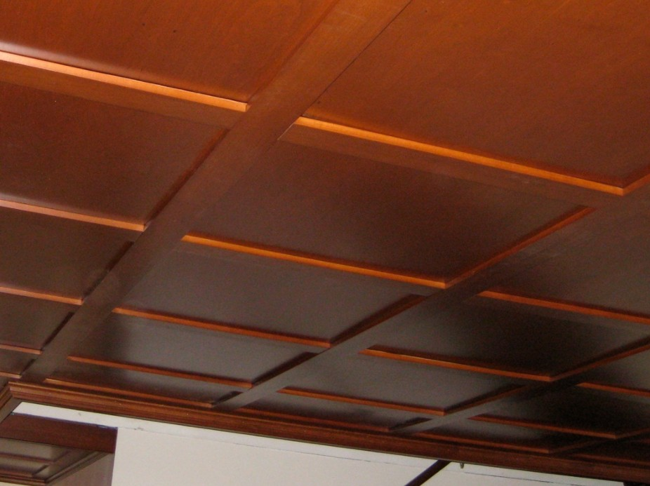 soffitti a cassettoni in legno