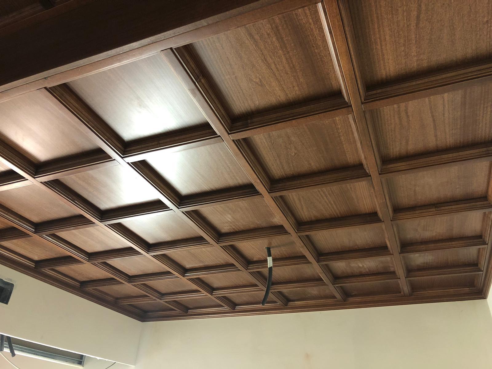 soffitti in legno a casssettoni ESCAPE='HTML'