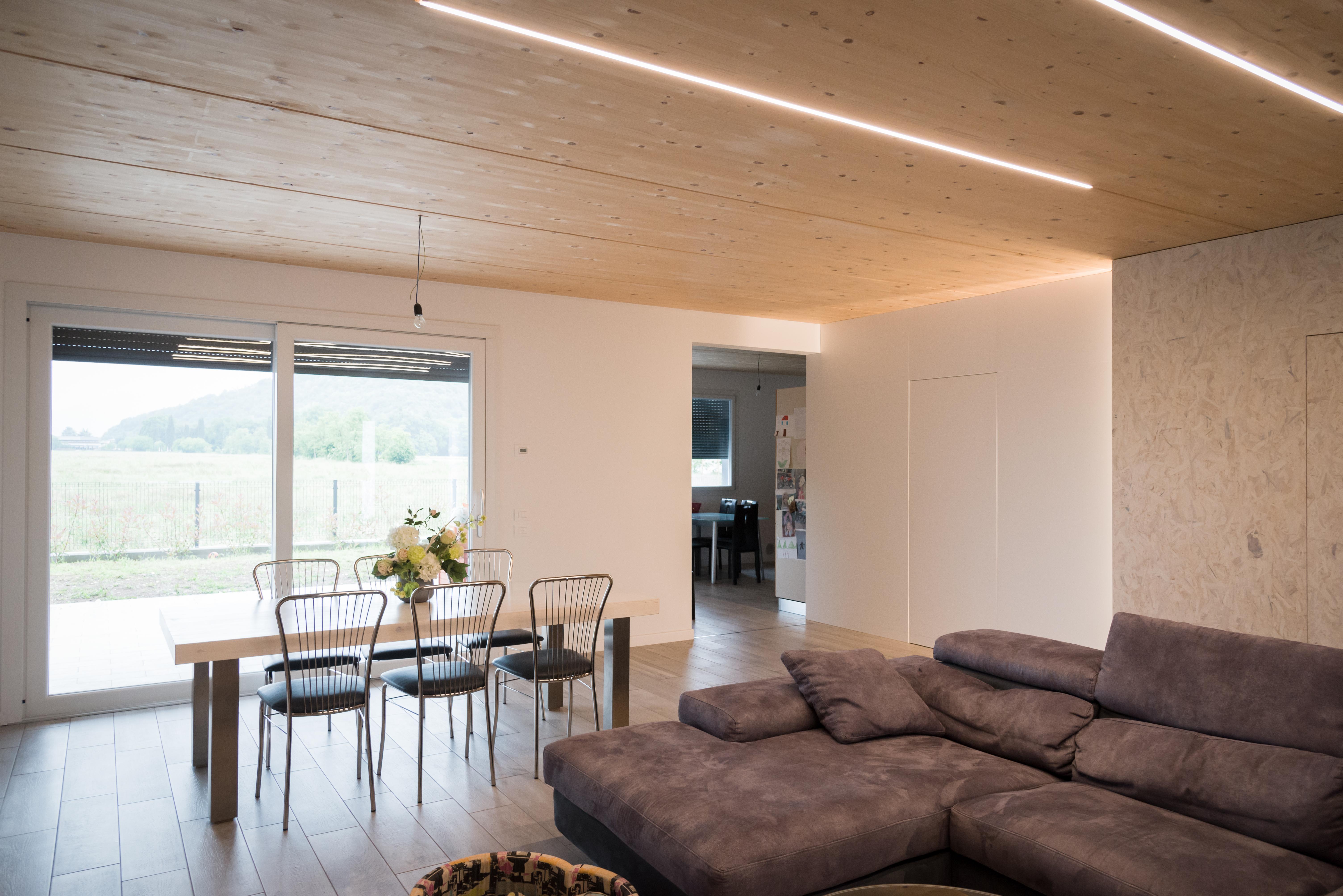 falegnameria soffitti moderni in legno