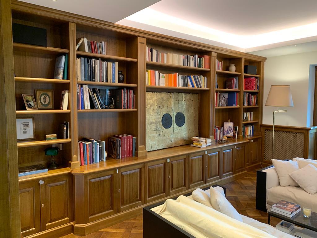 librerie soggiorno classiche