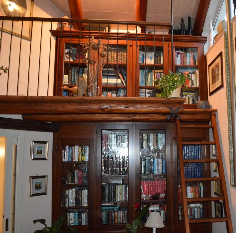 librerie su soppalco Roma