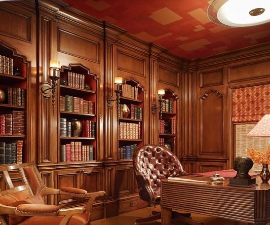Arredamento studio legale classico falegnameriartigianale for Mobili studio legale