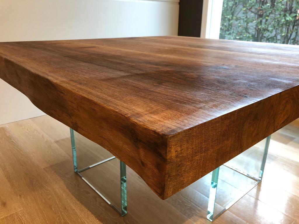 Tavoli moderni legno cristallo roma arredamenti su - Tavoli in legno moderni ...
