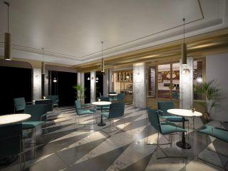 progetto 3D ristorante roma